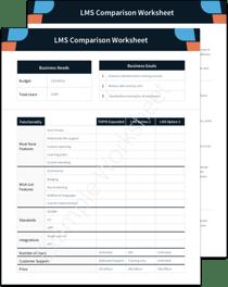LMS Comparison Offer