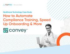 TOPYX Convey Healthcare Case Study Cover